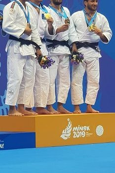 3ος ο Αζωίδης στους Πανευρωπαϊκούς Αγώνες στο Μινσκ