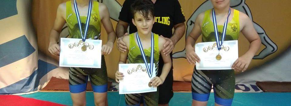 Τις καλύτερες εντυπώσεις άφησε η παιδική ακαδημία πάλης στο τουρνουά ΑΤΕΡΜΩΝ 2018