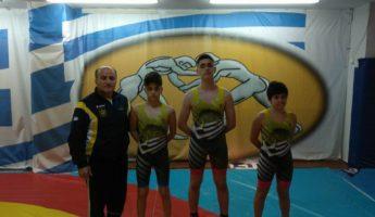 Με 3 συμμετοχές  ο ΑΡΗΣ στο Πανελλήνιο Πρωτάθλημα Παμπαίδων Πάλης