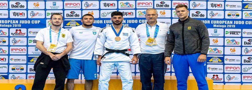 Τζούντο: «Χάλκινος» ο Τσοκούρης στο Ευρωπαϊκό Πρωτάθλημα
