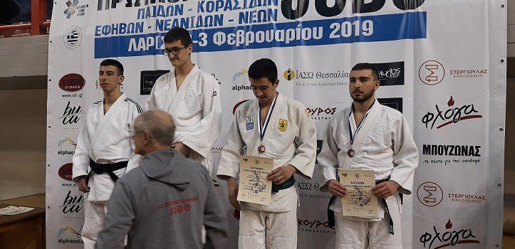 Πανελλήνιο Πρωτάθλημα Τζούντο Εφήβων 2019– Χάλκινο Μετάλλιο ο Μαμιαν