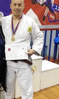 Χρυσό  Μετάλλιο στο τζούντο ο Ιωάννης Ζιακουλης