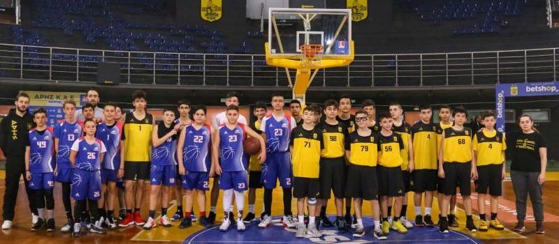 Μπάσκετ: Σειρά φιλικών για την Ακαδημία (photostory)