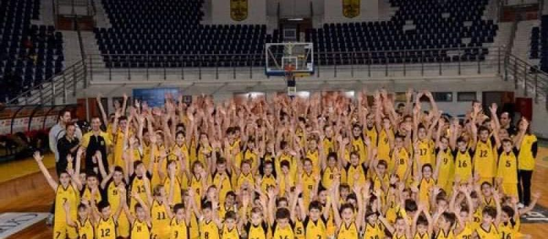 Μπάσκετ: Ανοίγει η αυλαία της νέας σεζόν για την Ακαδημία του ΑΡΗ