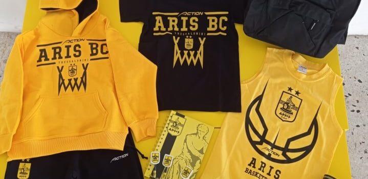 Ακαδημία Μπάσκετ: Προμηθεύτηκαν ρουχισμό και γραφική ύλη οι αθλητές του ΑΡΗ (pics)