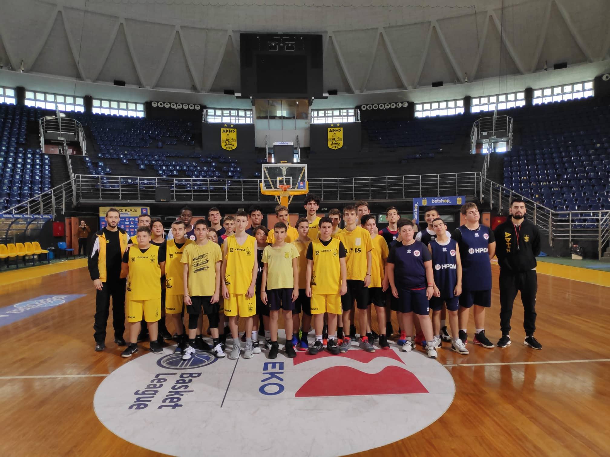 Πλούσια δράση για την Ακαδημία Μπάσκετ του ΑΡΗ (photostory)