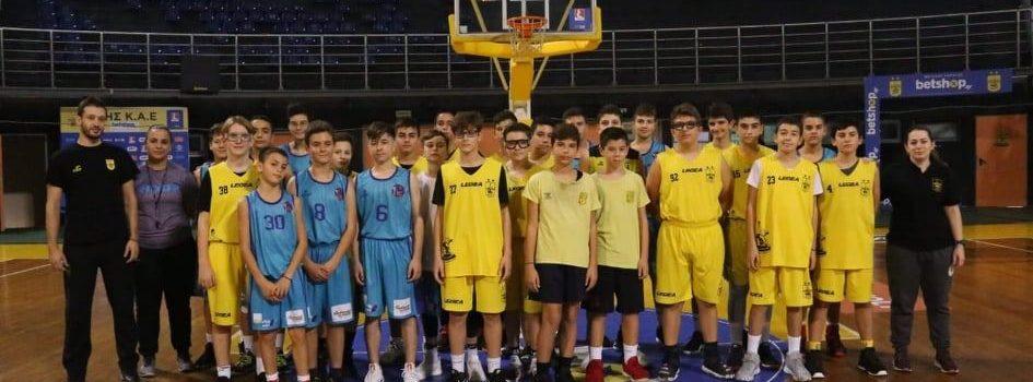 Σαββατοκύριακο γεμάτο δράση για την Ακαδημία Μπάσκετ του ΑΡΗ (photos)