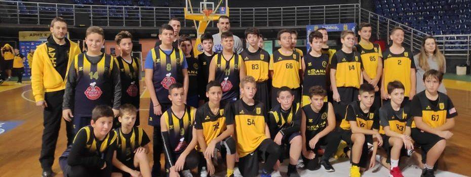 Φιλικά με Αρετσού και Πρωτέα για την Ακαδημία Μπάσκετ του ΑΡΗ (photostory)