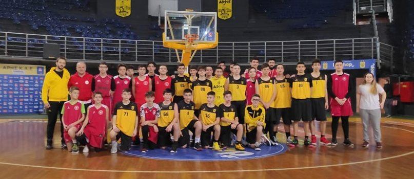 Μπάσκετ: Δυνατά φιλικά με τον Αστέρα Καβάλας για την Ακαδημία του ΑΡΗ (photostory)