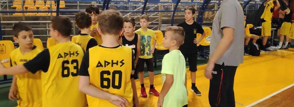 Μπάσκετ: Το πρόγραμμα της Ακαδημίας κατά την περίοδο των εορτών
