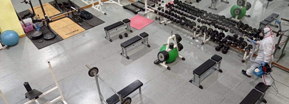 Απολύμανση στο ARIS Fitness & Sports και το κολυμβητήριο του Α.Σ. ΑΡΗΣ (pics)