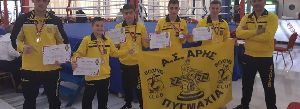 Πυγμαχία: Τρία χρυσά και δύο αργυρά μετάλλια για τον ΑΡΗ στα Τίρανα
