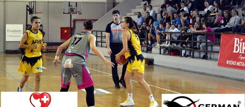 Μπάσκετ Γυναικών: Ήττα για τον ΑΡΗ στο Επταπύργιο