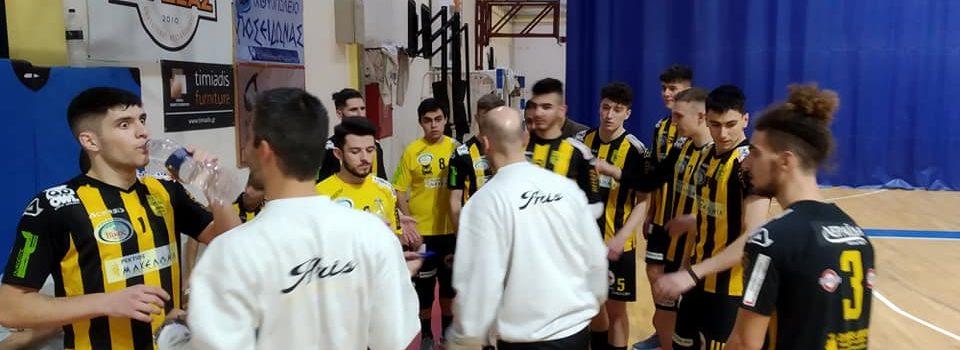 Βόλεϊ Εφήβων: Ήττα, αλλά πρόκριση του ΑΡΗ στο Πανελλήνιο Πρωτάθλημα