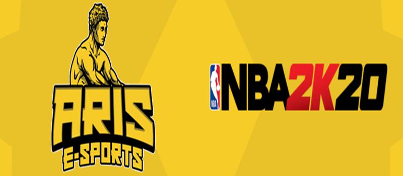 Και εγένετο ARIS eBasketball στο NBA 2K20