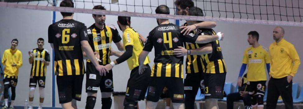 Βόλεϊ Ανδρών: Νίκη του ΑΡΗ επί της Καρδίτσας (3-1)