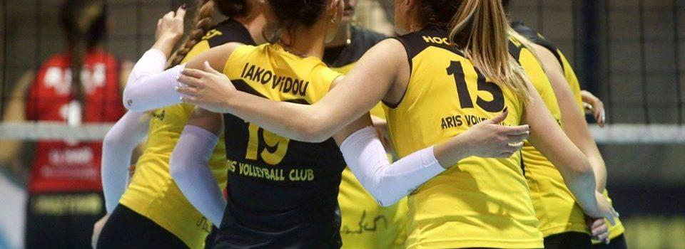 Βόλεϊ Γυναικών: Ο ΑΡΗΣ διά περιπάτου στο Final Four του Κυπέλλου (3-0)