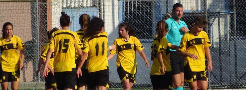 Ποδόσφαιρο Γυναικών: Ισοπαλία με Ατρόμητο