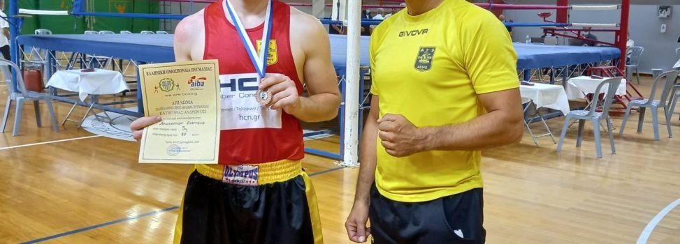 Πυγμαχία: «Χάλκινος» ο Αρναουτίδης στο Πανελλήνιο Πρωτάθλημα