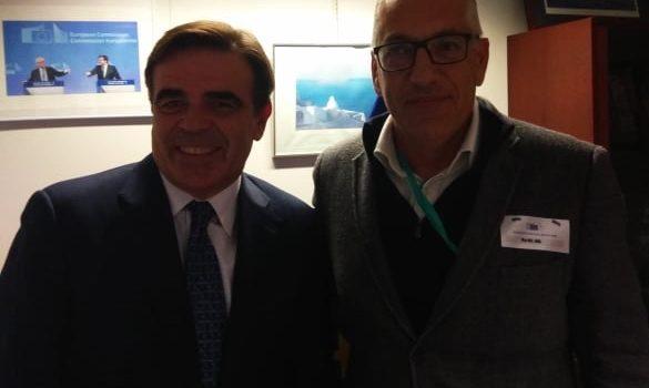 Συνάντηση Λευτέρη Αρβανίτη – Μαργαρίτη Σχοινά στις Βρυξέλλες