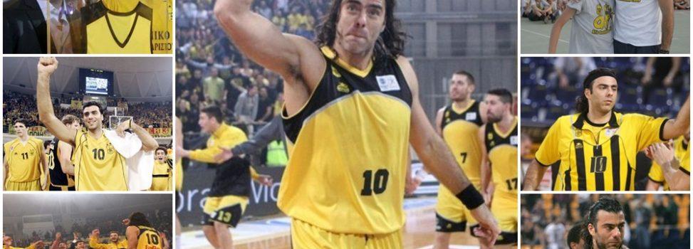 Ο Αντώνης Ασημακόπουλος υπεύθυνος των τμημάτων υποδομής μπάσκετ του Α.Σ. ΑΡΗΣ