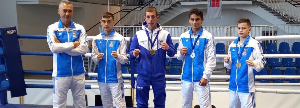 Πυγμαχία: «Χάλκινος» ο Πέτρος Κωνσταντινούδης, τρία μετάλλια για την Ελλάδα