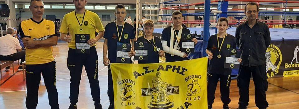 Πυγμαχία: Πέντε μετάλλια για τον ΑΡΗ στα Ιωάννινα
