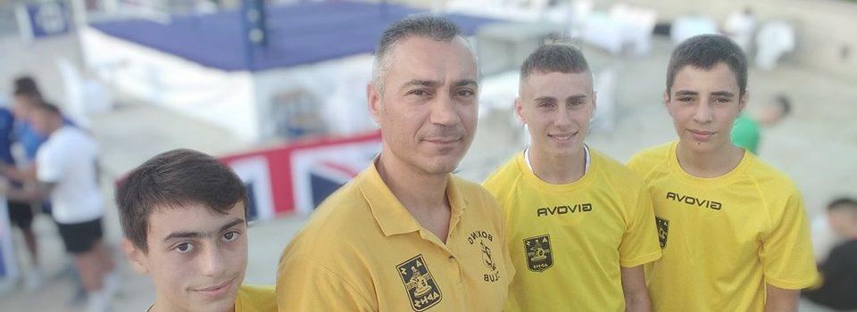 Επιτυχημένη η πρώτη μέρα του Lemesia Boxing Cup για τους πυγμάχους του ΑΡΗ