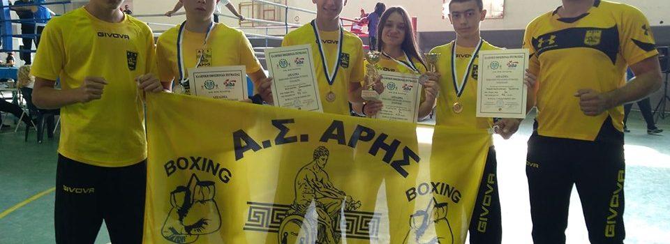 Πυγμαχία: Δύο χρυσά και δύο ασημένια μετάλλια για τον ΑΡΗ στο Πανελλήνιο Πρωτάθλημα (photos)