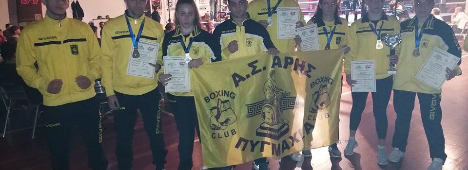 Πυγμαχία: Έξι μετάλλια για τον ΑΡΗ στο Πανελλήνιο Πρωτάθλημα