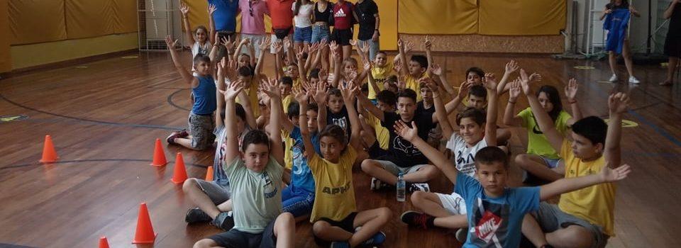 Άρωμα… Στίβου στο ARIS Sports Summer Camp 2021 (pics)