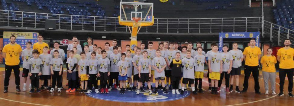 Η πρώτη μέρα του ARIS Basketball Training Camp (photostory)