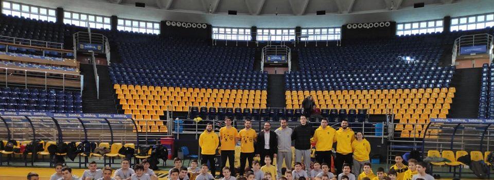 Με Καμπερίδη, Σιδηροηλία και Τσιούδα η δεύτερη μέρα του ARIS Basketball Training Camp (photostory)