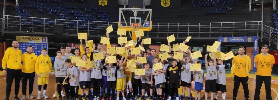 Έπεσε η αυλαία στο ARIS Basketball Training Camp (photostory)