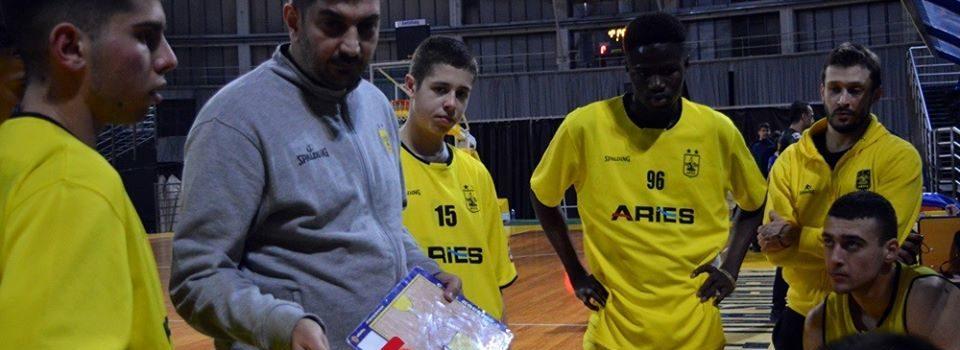 Μπάσκετ Εφήβων: «Καθάρισε» την πρόκριση από το πρώτο ματς ο ΑΡΗΣ (50-91)