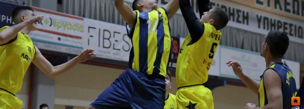 Μπάσκετ: Άνετη εκτός έδρας νίκη για τους Έφηβους του ΑΡΗ