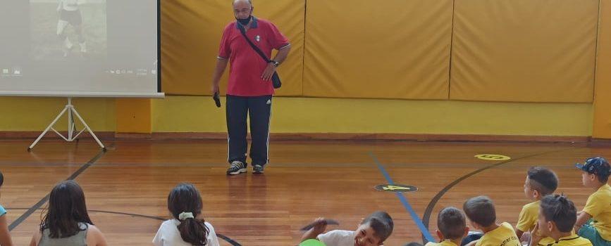 Ο Γιώργος Φοιρός στο ARIS Summer Sports Camp 2021 (pics)