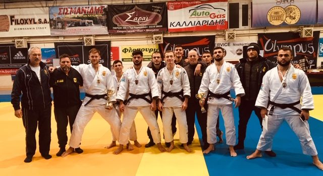 Επτά μετάλλια ο ΑΡΗΣ στο Πανελλήνιο Πρωτάθλημα Ανδρών