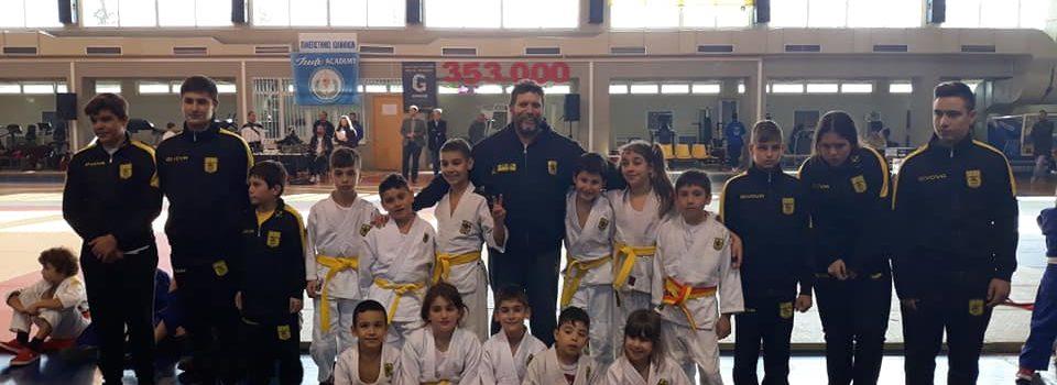 Τζούντο: «Βροχή» τα μετάλλια για τους νεαρούς αθλητές / τριες του ΑΡΗ