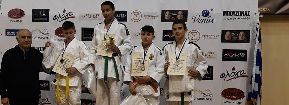 Τζούντο: Δύο μετάλλια για τον ΑΡΗ στο Πανελλήνιο Νέων και Παίδων Β' (photos)