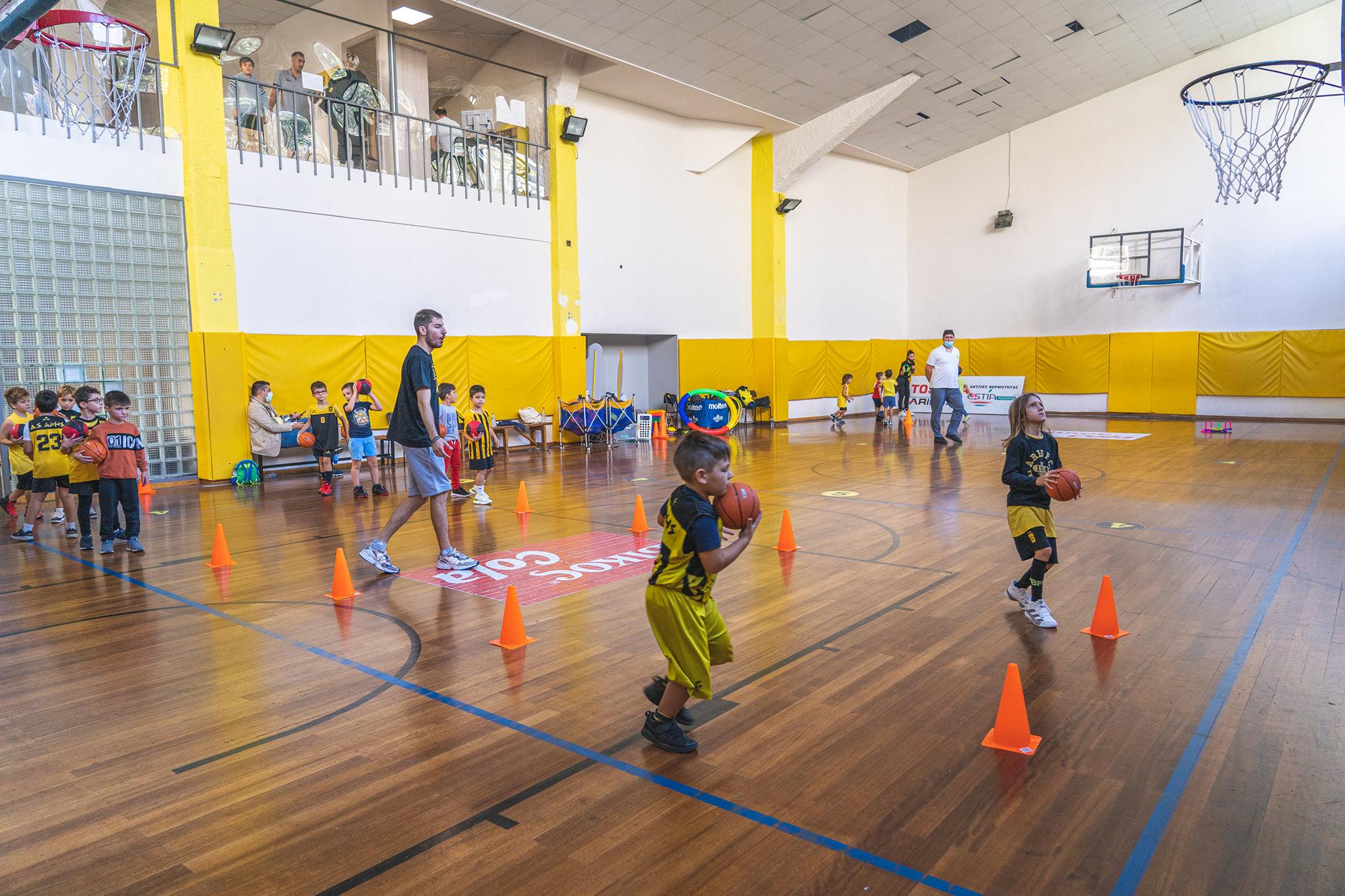Το ARIS JUNIOR BASKETBALL PROGRAM ξανανοίγει τις «πύλες» του