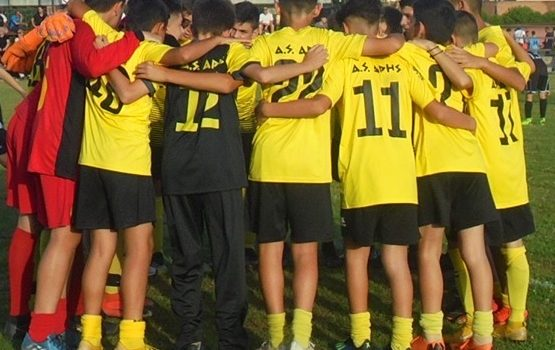 Ποδόσφαιρο: Τρεις νίκες και μία ήττα για τα τμήματα υποδομής