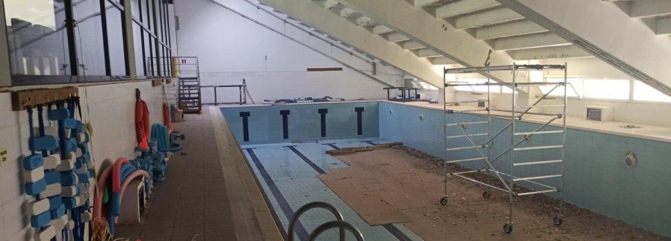 Εργασίες αναβάθμισης στο κολυμβητήριο του Α.Σ. ΑΡΗΣ (PICS)