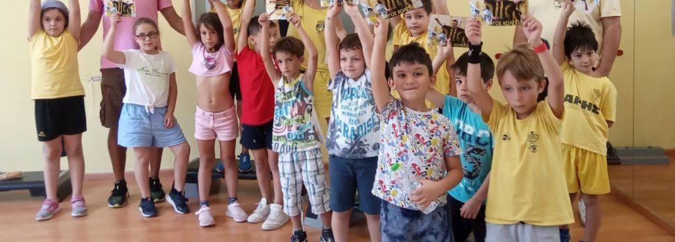 Ο Γιώργος Κολτσίδας στο ARIS Sports Summer Camp 2021 (pics)