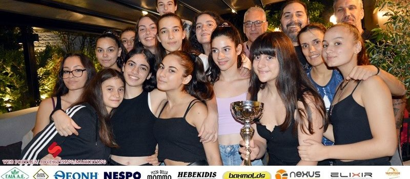Μπάσκετ Κορασίδων: Η γιορτή για την κατάκτηση του πρωταθλήματος (photos)
