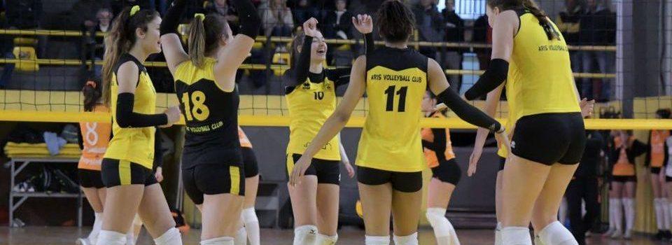 Βόλεϊ Κορασίδων: Το πρόγραμμα του ΑΡΗ στην πρώτη φάση του πρωταθλήματος