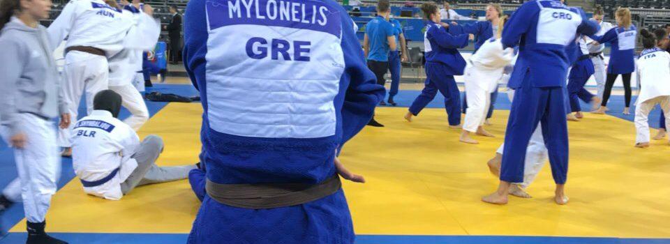 Ο Μυλωνέλης στο Πανευρωπαϊκό Κύπελλο Έφηβων στην  Ρουμανία