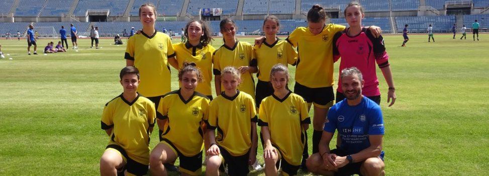 Ποδόσφαιρο Γυναικών: Εμπειρία ζωής για τις Νεάνιδες του ΑΡΗ ο αγώνας με τους πρωταθλητές του 2004 (pics)