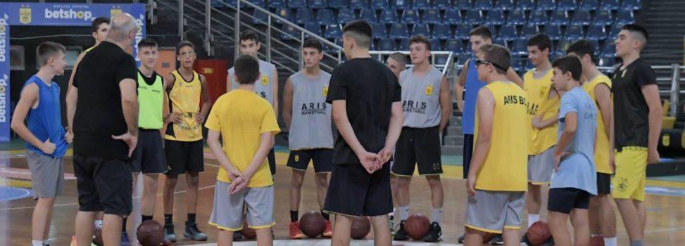 Μπάσκετ Παίδων: Το πρόγραμμα του ΑΡΗ στην πρώτη φάση του πρωταθλήματος