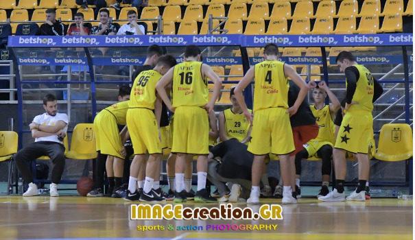 Μπάσκετ: Άνετη νίκη των Παίδων του ΑΡΗ επί του Ηρακλή
